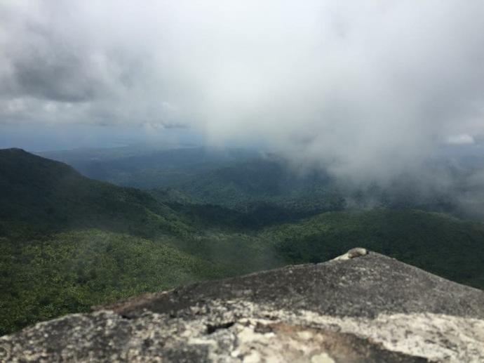 Top of Mt. Britton